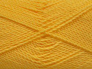 Fiber Content 100% Premium Acrylic, Light Yellow, Brand Ice Yarns, Yarn Thickness 2 Fine Sport, Baby, fnt2-67213
