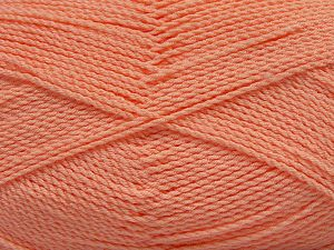Fiber Content 100% Premium Acrylic, Light Salmon, Brand Ice Yarns, Yarn Thickness 2 Fine Sport, Baby, fnt2-67232