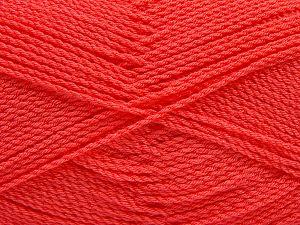 Fiber Content 100% Premium Acrylic, Salmon, Brand Ice Yarns, Yarn Thickness 2 Fine Sport, Baby, fnt2-67233