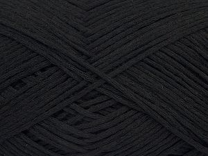 Fiber Content 67% Cotton, 33% Polyamide, Brand Ice Yarns, Black, Yarn Thickness 2 Fine Sport, Baby, fnt2-67352