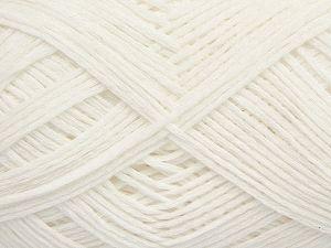 Fiber Content 67% Cotton, 33% Polyamide, White, Brand Ice Yarns, Yarn Thickness 2 Fine Sport, Baby, fnt2-67353