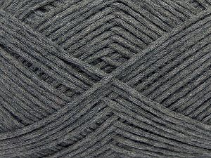 Fiber Content 67% Cotton, 33% Polyamide, Brand Ice Yarns, Dark Grey, Yarn Thickness 2 Fine Sport, Baby, fnt2-67357