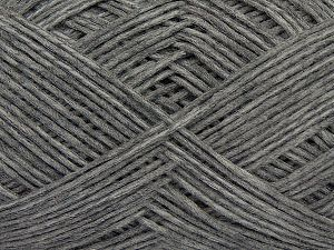 Fiber Content 67% Cotton, 33% Polyamide, Brand Ice Yarns, Grey Melange, Yarn Thickness 2 Fine Sport, Baby, fnt2-67358