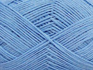 Fiber Content 67% Cotton, 33% Polyamide, Light Blue, Brand Ice Yarns, Yarn Thickness 2 Fine Sport, Baby, fnt2-67369