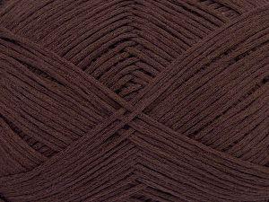 Fiber Content 67% Cotton, 33% Polyamide, Brand Ice Yarns, Dark Maroon, Yarn Thickness 2 Fine Sport, Baby, fnt2-67371