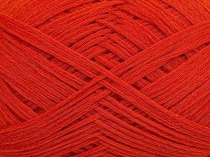 Fiber Content 67% Cotton, 33% Polyamide, Brand Ice Yarns, Dark Orange, Yarn Thickness 2 Fine Sport, Baby, fnt2-67375
