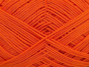 Fiber Content 67% Cotton, 33% Polyamide, Orange, Brand Ice Yarns, Yarn Thickness 2 Fine Sport, Baby, fnt2-67376