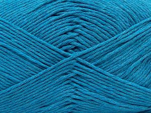 Fiber Content 100% Cotton, Turquoise, Brand Ice Yarns, fnt2-67447