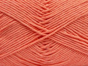 Fiber Content 100% Cotton, Salmon, Brand Ice Yarns, fnt2-67452