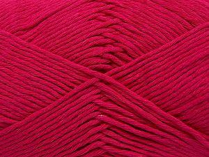 Fiber Content 100% Cotton, Brand Ice Yarns, Fuchsia, fnt2-67455