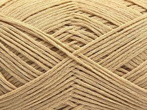 Fiber Content 67% Cotton, 33% Polyamide, Brand Ice Yarns, Dark Cream, Yarn Thickness 2 Fine Sport, Baby, fnt2-67457