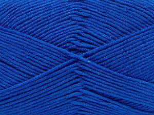 Fiber Content 50% Cotton, 50% Acrylic, Saxe Blue, Brand Ice Yarns, fnt2-67465