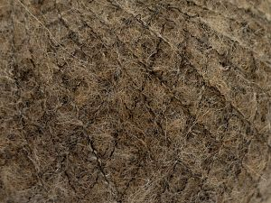 Fiber Content 36% Polyamide, 31% Extrafine Merino Wool, 30% Baby Alpaca, 3% Elastan, Light Brown, Brand Ice Yarns, fnt2-67474