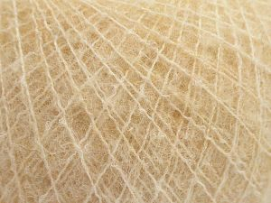 Fiber Content 36% Polyamide, 31% Extrafine Merino Wool, 30% Baby Alpaca, 3% Elastan, Brand Ice Yarns, Beige, fnt2-67475