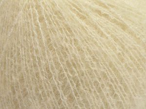 Fiber Content 36% Polyamide, 31% Extrafine Merino Wool, 30% Baby Alpaca, 3% Elastan, Brand Ice Yarns, Ecru, fnt2-67477