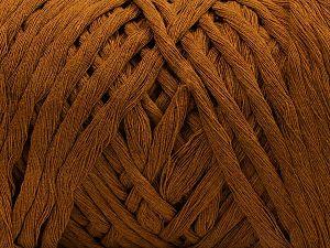 Fiber Content 100% Cotton, Brand Ice Yarns, Brown, fnt2-67522