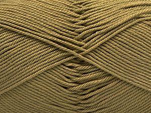 Fiber Content 100% Mercerised Giza Cotton, Light Khaki, Brand Ice Yarns, fnt2-67546