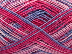 Fiber Content 100% Acrylic, Pink Shades, Brand Ice Yarns, Blue, fnt2-67743