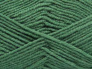 Contenido de fibra 60% Lana Merino, 40% Acrílico, Brand Ice Yarns, Green, fnt2-67789