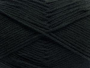 Fiber Content 100% Baby Acrylic, Brand Ice Yarns, Black, fnt2-67791