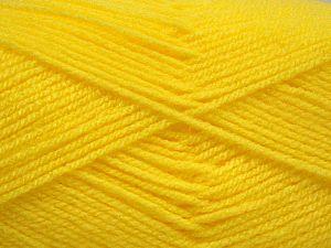 Fiber Content 100% Baby Acrylic, Neon Yellow, Brand Ice Yarns, fnt2-67793