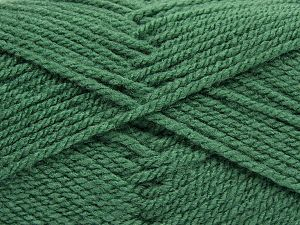 Worsted Fiber Content 100% Acrylic, Light Green, Brand Ice Yarns, fnt2-67796