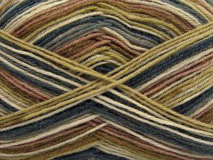 Fiber Content 75% Superwash Wool, 25% Polyamide, Jeans Blue, Brand Ice Yarns, Green, Cream, Camel, fnt2-67807