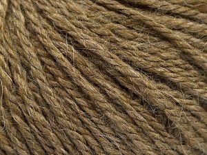 Fiber Content 8% Viscose, 54% Acrylic, 20% Wool, 18% Alpaca, Brand Ice Yarns, Camel, fnt2-67970