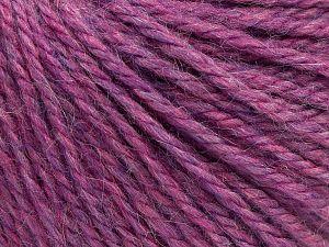 Fiber Content 8% Viscose, 54% Acrylic, 20% Wool, 18% Alpaca, Pink, Light Lilac, Brand Ice Yarns, fnt2-67975