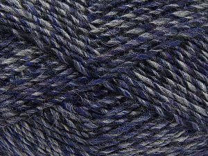 Fiber Content 9% Viscose, 62% Acrylic, 19% Alpaca, 10% Wool, Purple, Brand Ice Yarns, Grey, Black, fnt2-67990