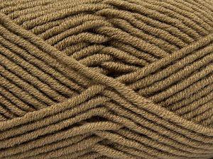 Fiber Content 50% Merino Wool, 50% Acrylic, Brand Ice Yarns, Camel, fnt2-67995