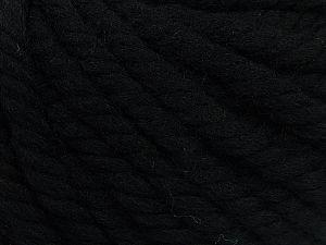 Fiber Content 100% Wool, Brand Ice Yarns, Black, fnt2-68002