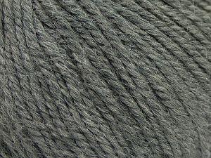 Fiber Content 50% Premium Acrylic, 25% Wool, 25% Alpaca, Brand Ice Yarns, Dark Grey, fnt2-68068
