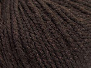 Fiber Content 50% Premium Acrylic, 25% Wool, 25% Alpaca, Brand Ice Yarns, Dark Maroon, fnt2-68071