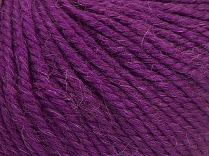 Fiber Content 50% Premium Acrylic, 25% Wool, 25% Alpaca, Purple, Brand Ice Yarns, fnt2-68073