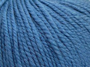 Fiber Content 50% Premium Acrylic, 25% Wool, 25% Alpaca, Light Blue, Brand Ice Yarns, fnt2-68081