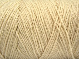 Items made with this yarn are machine washable & dryable. Fiber Content 100% Dralon Acrylic, Brand Ice Yarns, Dark Cream, fnt2-68084