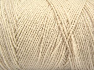 Items made with this yarn are machine washable & dryable. Fiber Content 100% Dralon Acrylic, Light Beige, Brand Ice Yarns, fnt2-68085