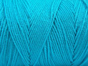 Items made with this yarn are machine washable & dryable. Fiber Content 100% Dralon Acrylic, Turquoise, Brand Ice Yarns, fnt2-68087