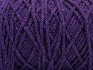 Please be advised that yarn iade made of recycled cotton, and dye lot differences occur. Fiber Content 100% Cotton, Brand Ice Yarns, Dark Purple, fnt2-68189