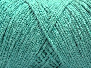 Please be advised that yarn iade made of recycled cotton, and dye lot differences occur. Fiber Content 100% Cotton, Mint Green, Brand Ice Yarns, fnt2-68190