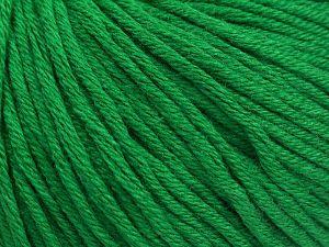 Fiber Content 50% Acrylic, 50% Cotton, Brand Ice Yarns, Green, fnt2-68196