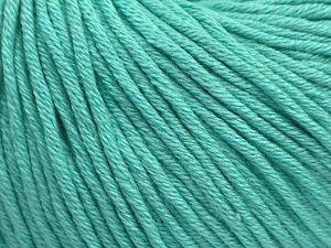Fiber Content 50% Acrylic, 50% Cotton, Mint Green, Brand Ice Yarns, fnt2-68197