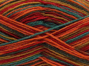 Fiber Content 75% Superwash Wool, 25% Polyamide, Rainbow, Brand Ice Yarns, fnt2-68203