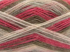 İçerik 50% Akrilik, 32% Yün, 18% Angora, Pink Shades, Light Grey, Brand Ice Yarns, Camel, fnt2-68346