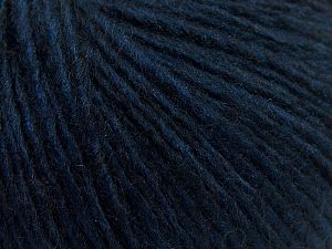 Fiber Content 60% Acrylic, 40% Wool, Brand Ice Yarns, Dark Navy, fnt2-68368