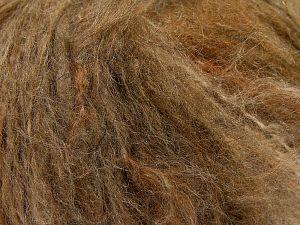 Fiber Content 45% Acrylic, 25% Wool, 20% Mohair, 10% Polyamide, Brand Ice Yarns, Brown Shades, fnt2-68378