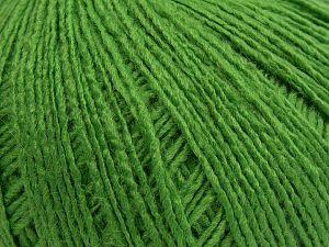 Fiber Content 95% Acrylic, 5% Elastan, Brand Ice Yarns, Green, fnt2-68386