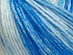 Fiber Content 100% Cotton, White, Brand Ice Yarns, Blue Shades, Beige, fnt2-68417