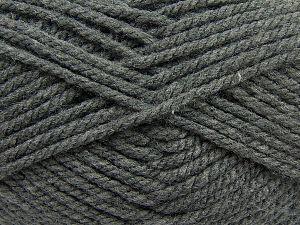 Bulky Fiber Content 100% Acrylic, Brand Ice Yarns, Grey, fnt2-68436
